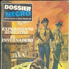 Tebeos: DOSSIER NEGRO Nº 11. Lote 32842639