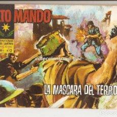 Tebeos: ALTO MANDO Nº 3 TEBEO ORIGINAL 1964 LA MASCARA DEL TERROR IBERO MUNDIAL DE EDICIONES BUEN ESTADO !. Lote 154088484