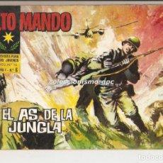 Tebeos: ALTO MANDO Nº 6 TEBEO ORIGINAL 1964 EL AS DE LA JUNGLA IBERO MUNDIAL DE EDICIONES BUEN ESTADO MIRA !. Lote 154088716