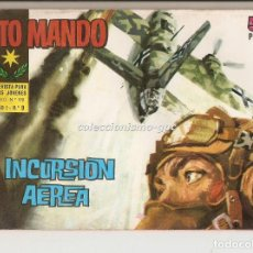 Tebeos: ALTO MANDO Nº 9 TEBEO ORIGINAL 1964 INCURSION AEREA IBERO MUNDIAL DE EDICIONES BUEN ESTADO MIRA !. Lote 154089248