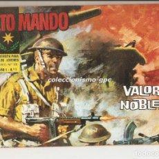 Tebeos: ALTO MANDO Nº 17 TEBEO ORIGINAL 1964 VALOR Y NOBLEZA IBERO MUNDIAL DE EDICIONES BUEN ESTADO MIRA !!!. Lote 154089805