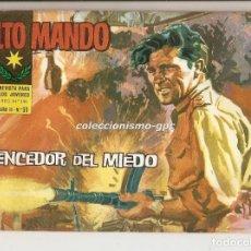 Tebeos: ALTO MANDO Nº 33 TEBEO ORIGINAL 1964 VENCEDOR DEL MIEDO IBERO MUNDIAL DE EDICIONES BUEN ESTADO MIRA . Lote 154090632