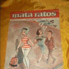Tebeos: REVISTA MATA RATOS. Nº 10, 16 JULIO 1965. AÑO I.. Lote 98501595