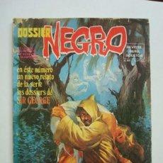 Tebeos: DOSSIER NEGRO Nº 88 (IBERO MUNDIAL DELTA GIESA ZINCO). Lote 100966679