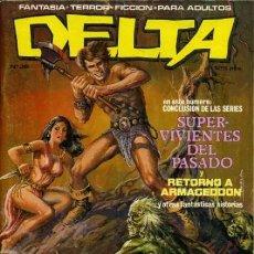 Giornalini: DELTA-Nº 36-1983-GUSTAVO TRIGO-JUAN GIMÉNEZ-JESÚS REDONDO-ALFONSO AZPIRI-BUENO- MUY RARO-7221. Lote 101705850