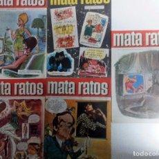 Tebeos: MATA RATOS LOTE DE 5 REVISTAS 1969-1970 VER FOTOGRAFÍAS Y DESCRIPCIÓN. Lote 104379055