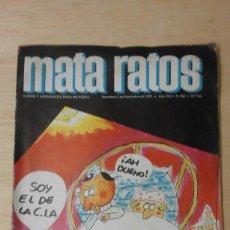 Tebeos: 1 REVISTA ** MATA RATOS .** Nº 262 - IBERO 1973. Lote 105354103