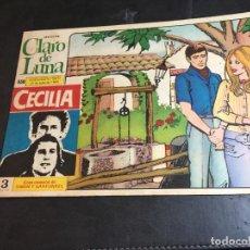 Tebeos: CLARO DE LUNA Nº 558 ROSALIA CONTRAPORTADA (COI51). Lote 105531395