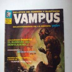 Tebeos: VAMPUS RELATOS DE TERROR Y SUSPENSE NUM 9 MAYO 1972.. Lote 105598580