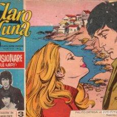 Livros de Banda Desenhada: ORIGINAL - CLARO DE LUNA - NÚMERO 482: NO ME ILUSIONARÉ. Lote 109047191