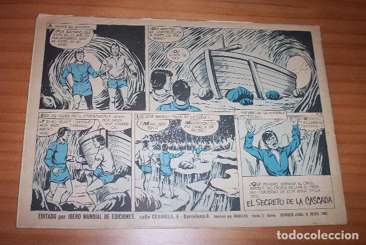 Tebeos: ORIGINAL - EL DELFÍN NEGRO - AÑO III - NUMERO 15: EN LAS MANOS DE PAUWAU - Foto 7 - 110246239