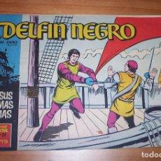 Tebeos: ORIGINAL - EL DELFÍN NEGRO - AÑO III - NUMERO 24: CON SUS MISMAS ARMAS - BUEN ESTADO. Lote 110249751