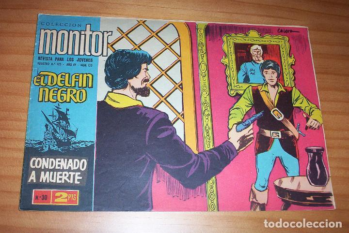 ORIGINAL - EL DELFÍN NEGRO - AÑO IV - NUMERO 30: CONDENADO A MUERTE - BUEN ESTADO (Tebeos y Comics - Ibero Mundial)