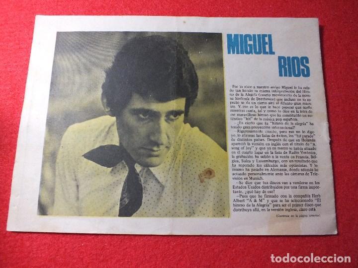 Tebeos: Tebeo Colección Claro de Luna nº 564 REVISTA JUVENIL año 1970 MIGUEL RIOS VICTOR MANUEL - Foto 2 - 110910907