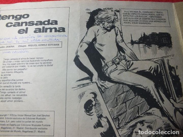 Tebeos: Tebeo Colección Claro de Luna nº 564 REVISTA JUVENIL año 1970 MIGUEL RIOS VICTOR MANUEL - Foto 4 - 110910907