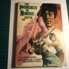 Tebeos: LOS INVENCIBLES DE NEMESIS. Nº 2. IBERO MUNDIAL. (E-34). CON SEÑALES DE USO . Lote 111032367
