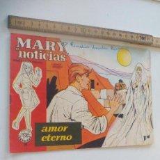 Comics - Mary noticias, colección heroínas cómic 1962 Carmen Barbara. N°29 Johnny Hallyday - 111293575