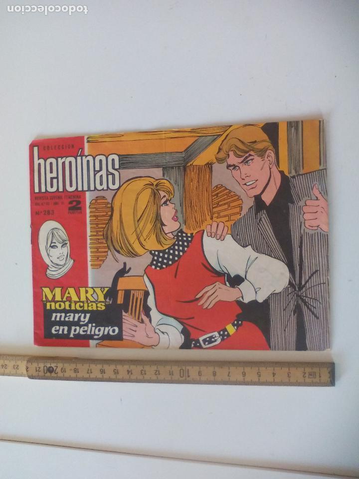 MARY NOTICIAS, COLECCIÓN HEROÍNAS CÓMIC CARMEN BARBARA. N° 283 MARY EN PELIGRO. TONY RONALD (Tebeos y Comics - Ibero Mundial)