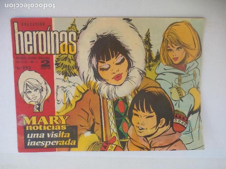 MARY NOTICIAS, COLECCIÓN HEROÍNAS CÓMIC CARMEN BARBARA. N° 292 UNA VISITA INESPERADA RAIMON (Tebeos y Comics - Ibero Mundial)