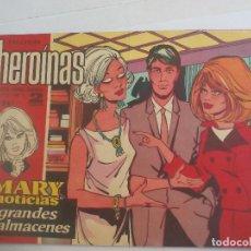 Tebeos - Mary noticias, colección heroínas cómic Carmen Barbara. N° 287 grandes almacenes. Marie Noelle. - 111379159