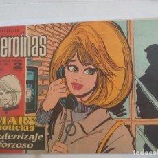Comics - Mary noticias, colección heroínas cómic Carmen Barbara. N° 281 aterrizaje forzoso David Janssen - 111379419