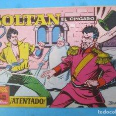 Tebeos: ZOLTAN EL CINGARO , NUMERO 34 , ATENTADO , IBERO MUNDIAL 1962. Lote 113012227