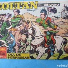 Tebeos: ZOLTAN EL CINGARO , NUMERO 28 , DIA DE SORPRESAS , IBERO MUNDIAL 1962. Lote 113014255