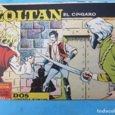 Tebeos: ZOLTAN EL CINGARO , NUMERO 22 , DOS CONTRA UNO , IBERO MUNDIAL 1962. Lote 113014499