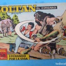 Tebeos: ZOLTAN EL CINGARO , NUMERO18 , LUCHANDO POR LA VIDA , IBERO MUNDIAL 1962. Lote 113014803