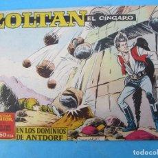 Tebeos: ZOLTAN EL CINGARO , NUMERON 15 , EN LOS DOMINIOS DE ANTDORE , IBERO MUNDIAL 1962. Lote 113015207