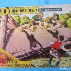 Tebeos: ZOLTAN EL CINGARO , NUMERO 14 , FUGA ACCIDENTADA , IBERO MUNDIAL 1962. Lote 113015583