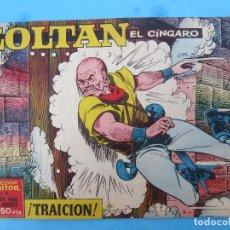 Tebeos: ZOLTAN EL CINGARO , NUMERO 10 , TRAICION , IBERO MUNDIAL 1962. Lote 113015935