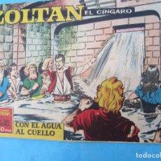 Tebeos: ZOLTAN EL CINGARO , NUMERO 7 , CON EL AGUA AL CUELLO , IBERO MUNDIAL 1962. Lote 113016427