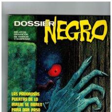Tebeos: DOSSIER NEGRO EXTRA INVIERNO 73 -MUY BUENO-. Lote 113208871