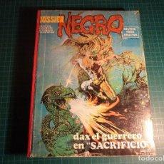 Tebeos: DOSSIER NEGRO. TOMO DE EDITORIAL. CONTIENE 7 NUMEROS. TAPA DURA. (M-40).. Lote 113280315