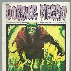 Tebeos: DOSSIER NEGRO 46, 1973, IBERO MUNDIAL DE EDICIONES, MUY BUEN ESTADO. Lote 113711867