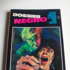 Tebeos: DOSSIER NEGRO N 1. 1968.. Lote 114628235