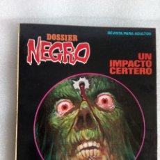 Tebeos: DOSSIER NEGRO EXTRA Nº 100 1ª EDICION 1970 EXCELENTE ESTADO UN IMPACTO CERTERO DOSIER NEGRO. Lote 117835263