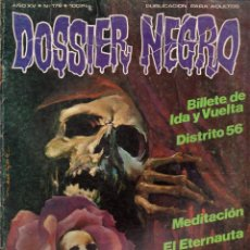 Tebeos: DOSSIER NEGRO Nº 176. Lote 117841127