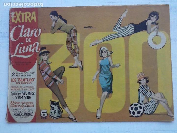 CLARO DE LUNA Nº 300 EXTRA - LOS BEATLES EN ESPAÑA, VER IMÁGENES (Tebeos y Comics - Ibero Mundial)