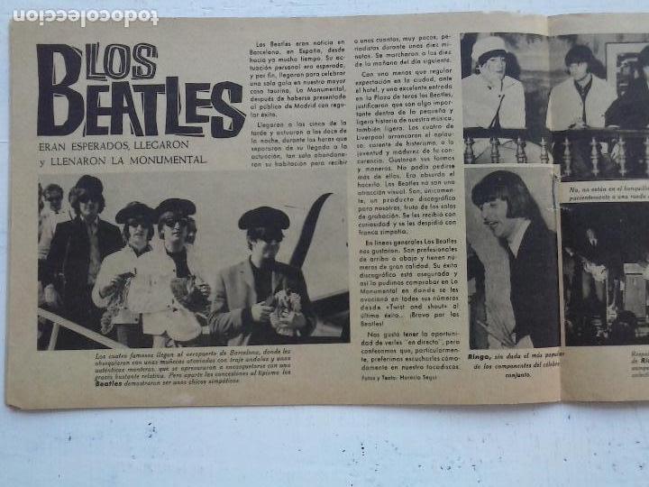 Tebeos: CLARO DE LUNA Nº 300 EXTRA - LOS BEATLES EN ESPAÑA, VER IMÁGENES - Foto 3 - 120970783