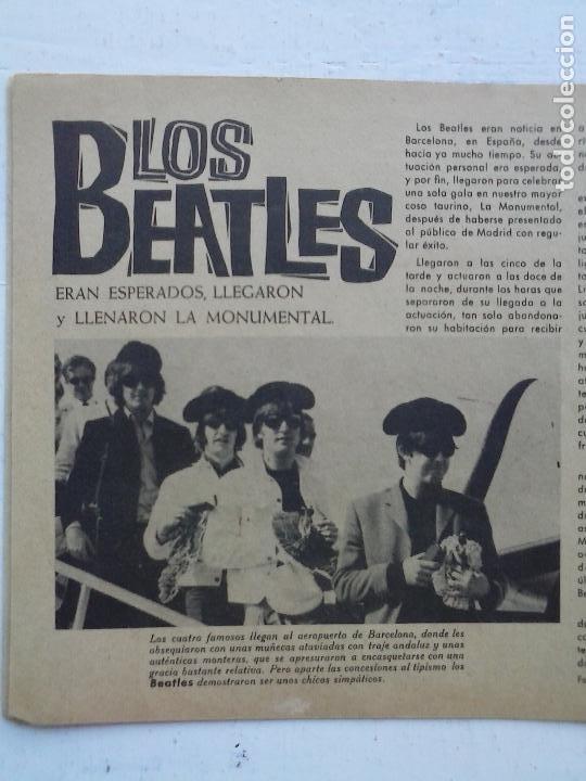 Tebeos: CLARO DE LUNA Nº 300 EXTRA - LOS BEATLES EN ESPAÑA, VER IMÁGENES - Foto 7 - 120970783