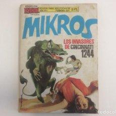 Tebeos: COLECCION PYTHON - MIKROS - LOS INVASORES DE CINCINNATI 1244 - Nº 15. Lote 121126611