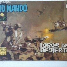 Livros de Banda Desenhada: ALTO MANDO ORIGINAL Nº 48 - DIFICIL - 1964. Lote 122827867
