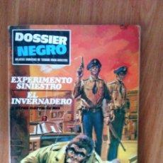 Tebeos: DOSSIER NEGRO 11 - ED IMDE 1969 - TACO - BUEN ESTADO. Lote 124436571