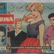 Tebeos: TEBEO - COMIC - COLECCIÓN CLARO DE LUNA - MARINA - Nº 45 - CLAUDIO VILLA - IBERO MUNDIAL. Lote 124481771