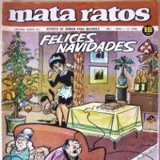 Tebeos: COMIC MATA RATOS ESPECIAL FELICES NAVIDADES 1965. Lote 125110998