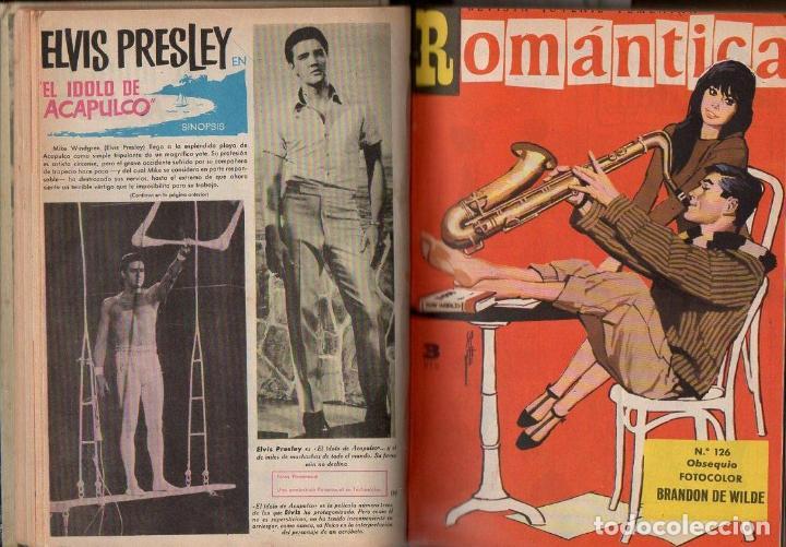 ROMÁNTICA : 25 NÚMEROS ENCUADERNADOS (Tebeos y Comics - Ibero Mundial)