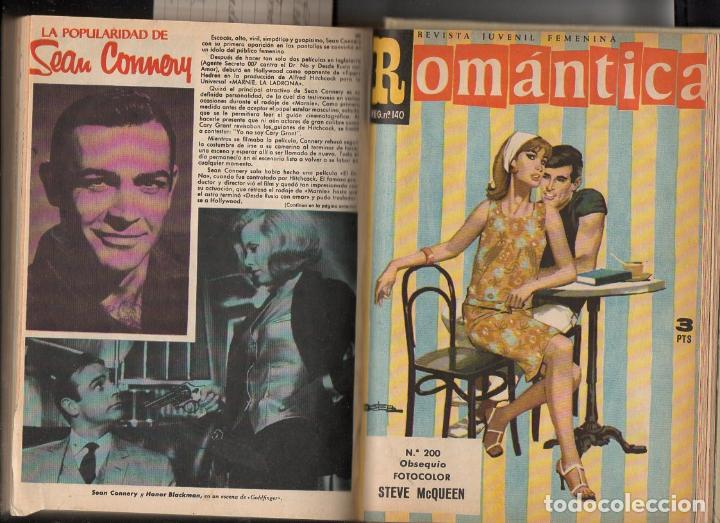 ROMÁNTICA : 25 NÚMEROS ENCUADERNADOS - INCLUYE EXTRA NAVIDAD 1963 (Tebeos y Comics - Ibero Mundial)