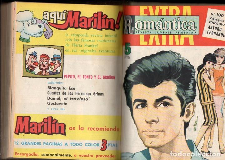 ROMÁNTICA : 24 NÚMEROS ENCUADERNADOS - INCLUYE EXTRA NÚMERO 100 (Tebeos y Comics - Ibero Mundial)